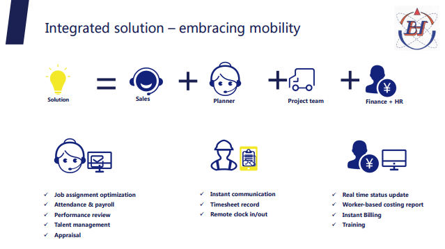 Solution mobility smartphone mobile